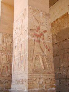 Totentempel des Sethos in Abydos