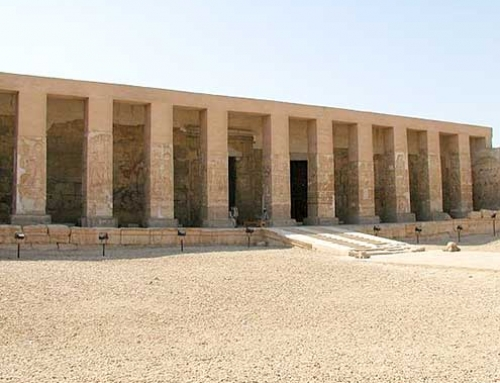 Totentempel von Sethos I. in Abydos